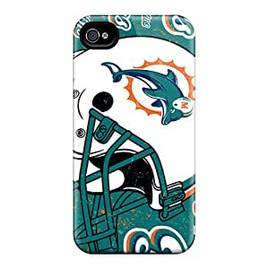 CristinaKlengenberg Iphone 6plus Shock Absorption Hard Phone Covers Customized High Resolution Miami Dolphins Series [YDp17472maqc]