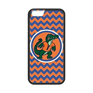 Generic Customize Unique Otterbox--NCAA Florida Gators Team Logo Plastic and TPU (Laser Technology) Case Cover for iPhone6