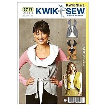 Kwik Sew Damen Schnittmuster 3717 – Weste (O/S): Amazon.de: Küche ...
