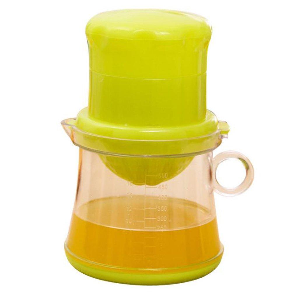 Exprimidor manual de limón de mano para portería de viento, exprimidor manual de cítricos, utensilios de cocina naranja, 2 piezas: Amazon.es: Hogar