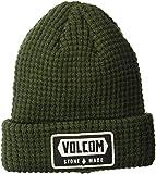 Volcom Men's Shop Beanie, Dark Green, O/S