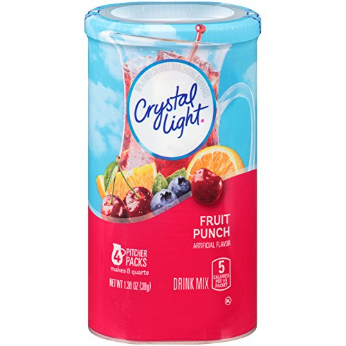 (Crystal Light Fruit Punch Drink Mix (16 Pitcher Packets, 4 Canisters of 4))
