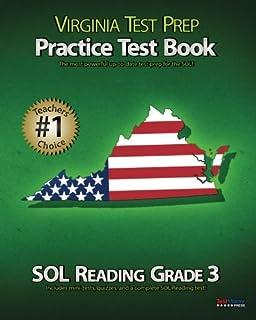 Amazon virginia test prep practice test book sol reading grade virginia test prep practice test book sol reading grade 3 fandeluxe Image collections