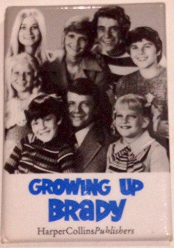 Growing Up Brady Book Promo Pin
