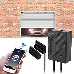 TEEKAR WiFi Garage Door Opener Kit Smart...
