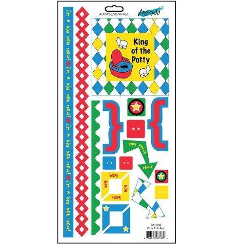 (Moxxie Mix-Em Cardstock Stickers - Potty Training)
