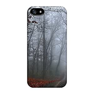 Anti-scratch And Shatterproof Autumn Phone Case For Iphone 5/5s/ High Quality Tpu Case