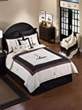 Donna Sharp Cape Hatteras Embroidered 100-Percent Cotton Full/Queen Quilt