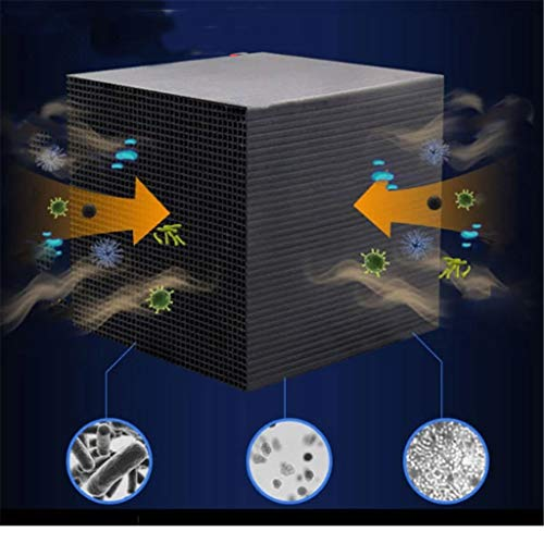 Aribelly Eco-Aquarium Water Purifier Cube Activated Carbon Fish Tank Filtration Material,Ultra Strong Filtration & Absorption Rapid Water Purification Filter for Aquarium