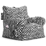 Give Your Room a Modern Yet Still Cozy Touch with This Bean Bag Chair / Zebra
