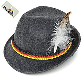 Melesh Adult Felt Swiss German Alpine Bavarian Okt...