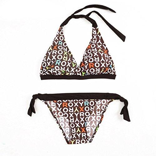 HAOYUXIANG Multicolor De La Manera Atractiva Del Bikini Brown