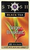 Best The Republic of Tea Hot Teas - Stash Tea Ginger Breakfast Black Tea 18 Count Review