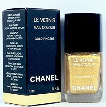 Amazon.com : Chanel Le Vernis Nail Colour Gold Fingers Las Vegas De ...