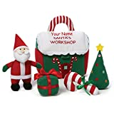 Best GUND Birthday Gift For 3 Year Old Boys - Personalized GUND Santa's Workshop Playset with Mini Plush Review