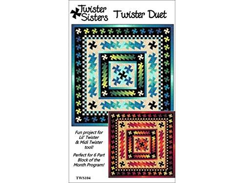 Duet Pattern - Twister Sisters TWS104 Duet Pattern