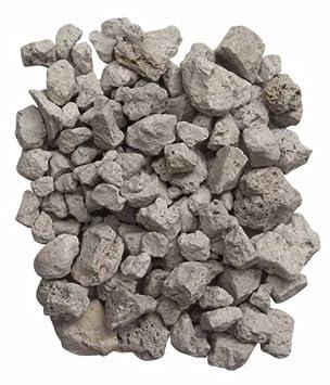 Gardeco PUMICE-4L - Bolsa de piedras volcánicas (4 L), color blanco: Amazon.es: Jardín