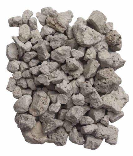 Gardeco PUMICE-4L - Bolsa de Piedras volcánicas (4 L), Color Blanco