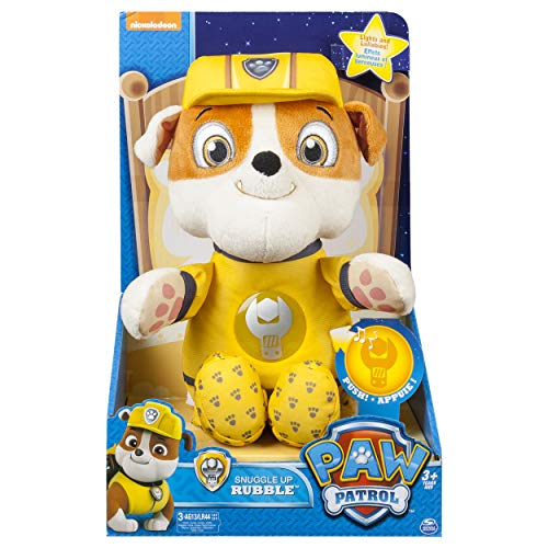 Paw Patrol - Snuggle Up Pup - Rubble]()