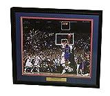 Mario Chalmers Autographed Kansas Jayhawks THE SHOT Signed Framed 16x20 Basketball Photo JSA COA