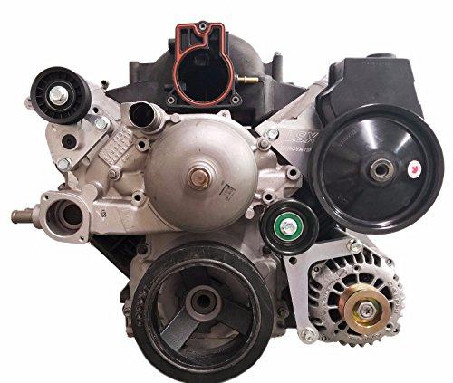 (LSX Innovations LS1 BD10 Camaro Alternator and Power Steering Bracket)