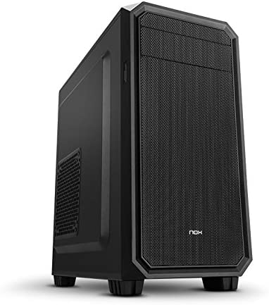 Nox Coolbay MX2 - NXCBAYMX2 - Caja PC, Mini Torre, Color Negro ...