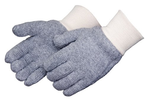 Liberty 4123G/C Seamless 24 oz Terry Cloth Men's Glove, Gray (Pack of 12)
