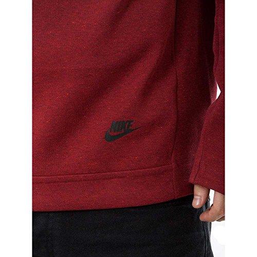 Nike Mens M Nsw Tch Flc Fnl Po 805214 Rojo (team Rosso / Htr / Nero) 688