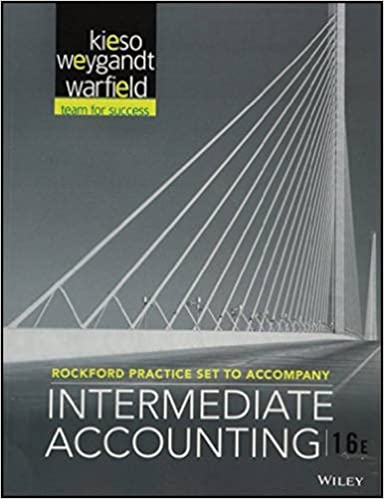 Amazon rockford practice set to accompany intermediate rockford practice set to accompany intermediate accounting 16e 16th edition fandeluxe Image collections
