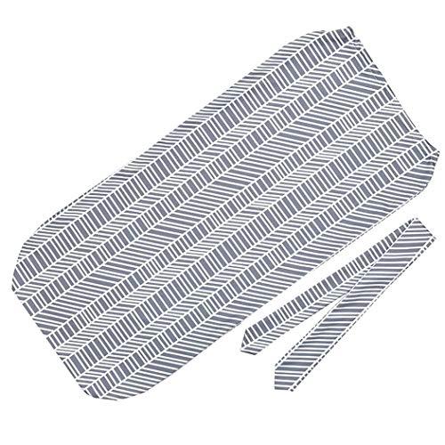 Baby Print Blanket Headband Bow Set Newborn Swaddle Wrap Sleeping Bag