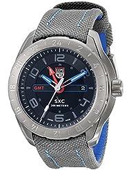 Luminox Mens A.5121.GN SXC Analog Display Swiss Quartz Grey Watch