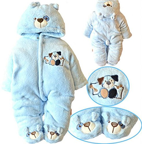 d357c83c9 Amazon.com  Newborn Baby Clothes Girls Boys Romper Winter Jumpsuit ...