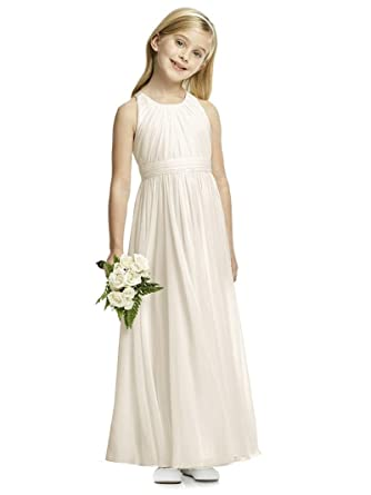 Amazon.com: Sittingley Lovely Girls Dresses Chiffon Draped A-Line Kids Prom Gown 1-12 Year Old: Clothing