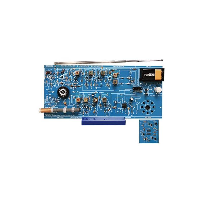 Elenco AM/FM Radio Kit (Combines ICs & T