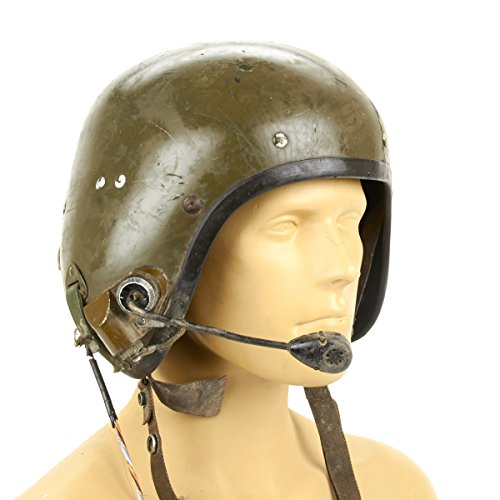 Original British Armored Vehicle Tanker Helmet from the Gulf and Falkland Wars
