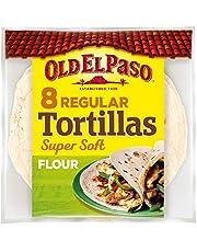 Old El Paso - 8 Tortillas De Trigo 326 g - Pack de 12 Unidades x 8 Tortillas