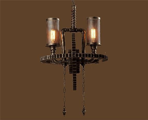 Lampadario Allaperto : Cl retrò lampadario coperto tubi d acqua del lampadario a bracci