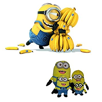 Amazon.com: Despicable Me Big Minions muñeca suave, 19.7 ...