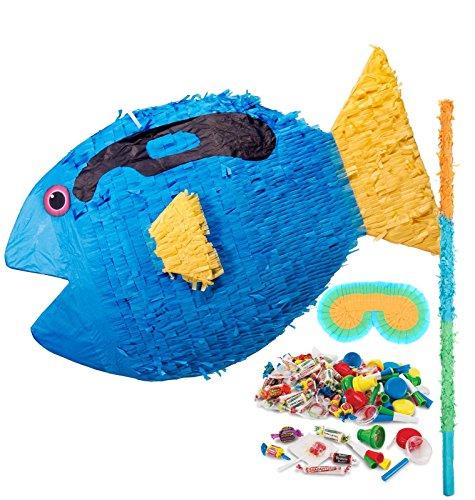Pinata Mask & Buster Kit (Finding Dory Party Supplies - Pinata Kit)