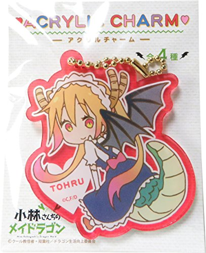 Miss Keychain (Miss Kobayashi's Dragon Maid Acrylic Charm TOHRU)