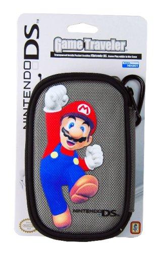 Nintendo DS Lite Game Traveler Mario Case - Gray ()