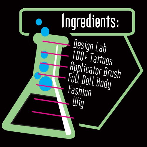 monster high create a monster design lab instructions