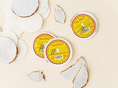 San Pablo Obleas con Cajeta - Milk candy filled mini wafers 4-Pack (20 pc of .35 Oz. per pack)