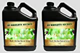 World's Best Base Nutrient System: Humboldts Secret Base A & B Bundle - Liquid Nutrient / Fertilizer For The Vegetative & Flowering Stages of Plants (2 Gallons)