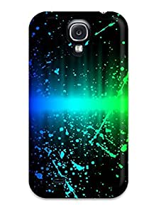 Galaxy S4 Case, Premium Protective Case With Awesome Look - Funky Soundwave