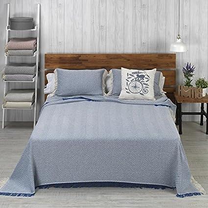 Colcha Foulard Multiusos modelo Espiga para sofá y para cama ...