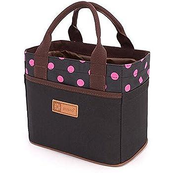 Amazon Com Mziart Cute Reusable Cotton Lunch Bag