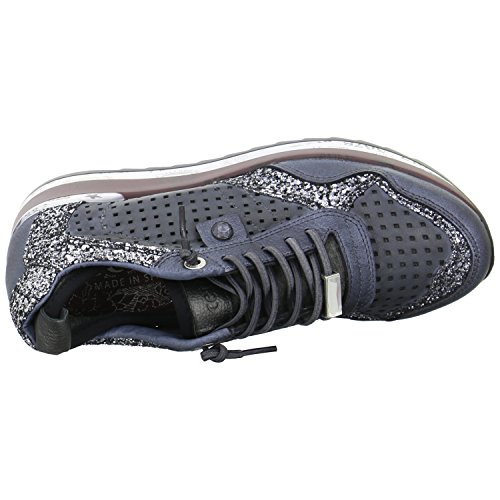 Cetti Damen Baskets Mode Blau