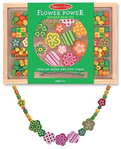 - Wooden 'Flower Power' Bead Accessory Creation Set