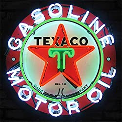 Neonetics 5TXOIL Texaco Gasoline Motor Oil Neon Sign